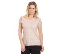 T-Shirt, Oil-Wash, mittlere Naht, V-Ausschnitt, Baumwolle