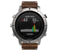 fēnix Chronos Smartwatch 010-01957-00, Leder