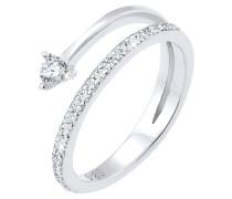 Ring Pfeil Zart Zirkonia Swarovski® Kristalle