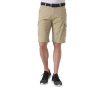 """Shorts """"Jack"""", Modern Fit, Beintaschen, geflochtener Stretch-Gürtel"""