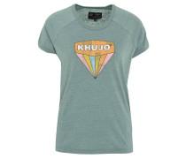 T-Shirt, Rundhalsausschnitt, Marken-Print