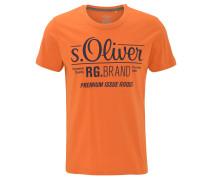 T-Shirt, Logo-Print, Rundhalsausschnitt, Baumwolle