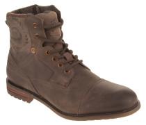 Stiefel, echtes Leder, Wechselfußbett, Reißverschluss