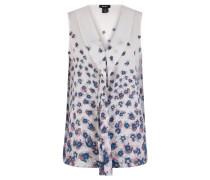 Blusenshirt, floraler Print, Schalkragen