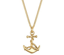 Halskette Anker Maritim Meer 925 Sterling Silber