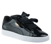 """Sneaker """"Basket Heart Patent"""", auffällige Zier-Schleifen, glänzend"""