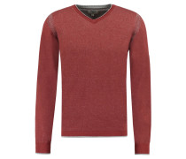 Pullover, Regular-Fit, V-Ausschnitt
