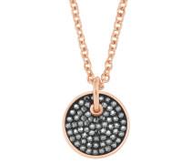 Damen-Halskette mit Swarovski® Kristallen IP ROSE
