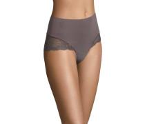 Panty, breiter Formbund, filigrane Spitze