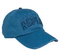 Cap, Baseballkappe aus Twill, Logo