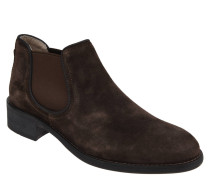 Chelsea Boots, geöltes Veloursleder, Kalbsleder-Futter