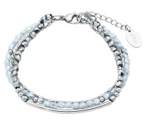 Armband mit Glassteinen 2018349 Edelstahl