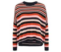 Pullover, Oversized-Schnitt, gestreift, Glitzer-Effekt