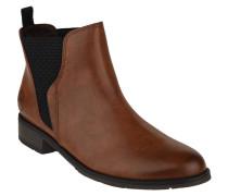 Chelsea Boots, Marken-Prägung, strukturierter Stretch-Einsatz
