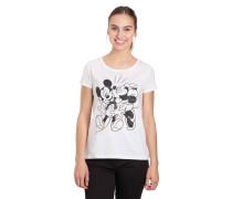 T-Shirt, Mickey-Mouse-Print, Rundhalsausschnitt
