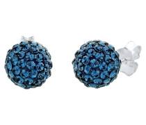 Ohrringe Glamour Swarovski® Kristalle 925 Silber