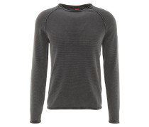 Pullover, Baumwolle, Rollsaum, Raglan-Ärmel, Rundhalsausschnitt