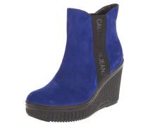 Ankle Boots, Keilabsatz, Wildleder
