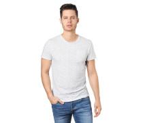 T-Shirts, Allover-Print, Brusttasche, Rundhalsausschnitt