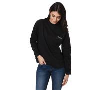 Sweatshirt, Stehkragen, Stickerei, Ripp-Bund