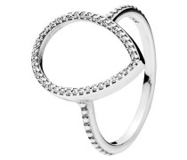 Ring Tropfensilhouette 196253CZ-54