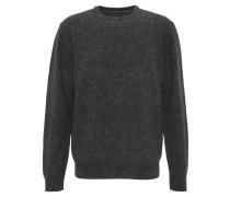 Pullover, mit Wolle, Rippbündchen, Strick-Optik