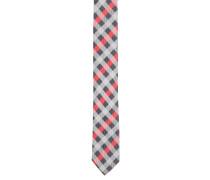 Krawatte, Seide, kariert, gewebt