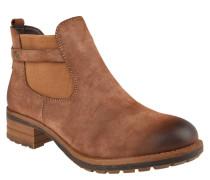 Chelsea Boots, Used-Look, Riegel, Reißverschluss