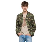 Jacke, Camouflage-Optik