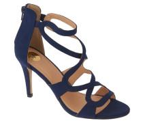 Sandaletten, Velours, elastische Einsätze
