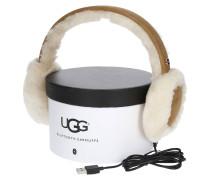 Ohrenwärmer, Bluetooth-Technologie, Veloursleder