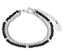 Armband mit Glassteinen 2018347 Edelstahl