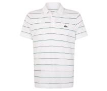 Poloshirt, gestreift, Baumwolle, Kurzarm