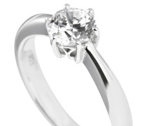 Ring, Sterling  925, -Zirkonia, 1,0 ct