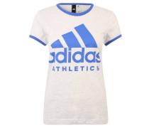 """T-Shirt """"Slim"""", Baumwolle, Print, Ringer-Stil"""