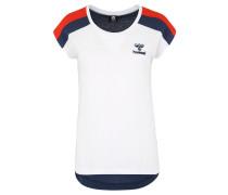 """T-Shirt """"Mena"""", Schulter-Streifen, Lagen-Look"""