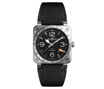 """Herrenuhr """"GMT"""" BR03-93-GMT-ST/SCA"""