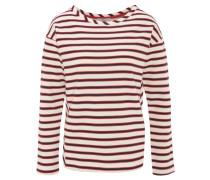 Sweatshirt, gestreift, schräge Abnäher