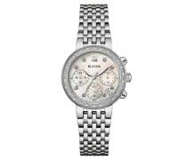 Diamonds Damenuhr 96W204, Chronograph