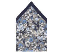 Einstecktuch, reine Seide, Blumen-Muster