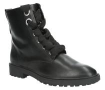 Boots, Kunstleder, Schnürung, Zugschlaufe