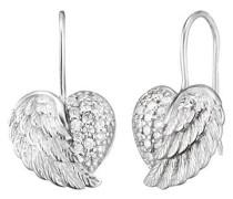 Ohrhänger Herz-Flügel  ERE-HEARTWING-ZI