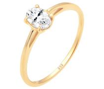 Ring Verlobungsring Valentin Liebe Topas 585 Gelb