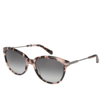 Sonnenbrille, Havanna-Look, Cat Eye