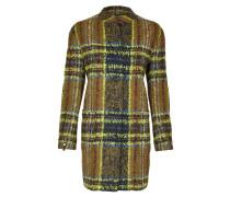 Klassische Mantel, große Knopfleiste