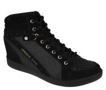 """Wedge Sneaker """"Linea Fondo"""", Glitzer, Nieten-Details"""