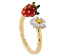 "Ring ""Flowers and Strawberries"", AHPO603/1, verstellbar"