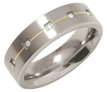 Ring Titan, zus. 0,0,25 ct