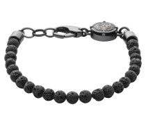"Armband, ""RAGGED"", Lava-Perlen, ,"