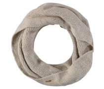 Loop-Schal, Zickzack-Struktur, Strick, uni